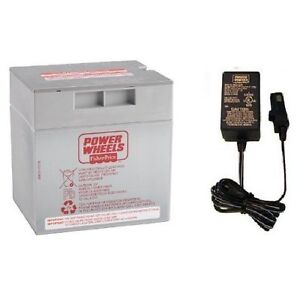 12 volt gray battery charger combo power wheels fisher. Black Bedroom Furniture Sets. Home Design Ideas