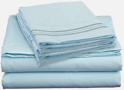 1500 Supreme Ultra Soft Regular bed  Waterbed 4 piece Sheet Set  Queen King Full