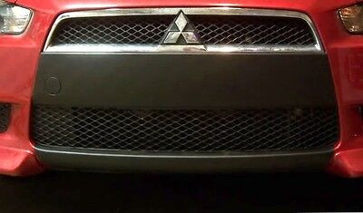 Bottom piece only Precut lower front bumper lip Overlay Evo X 10 style graphics
