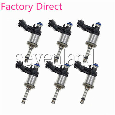 6 pcs OEM Fuel Injectors For Buick Enclave Chevrolet Chevy Traverse GMC Acadia