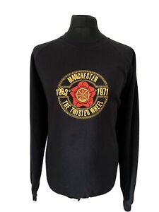 The Twisted Wheel Manchester Rock Band Music Black Sweatershirt Pullover XXL