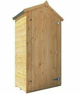 Billyoh Tall Sentry Box Outdoor, Wooden Garden Storage Box Uk