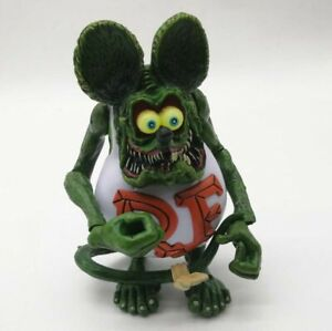 """Rat Fink Action Figure Ed /""""Big Daddy/"""" Roth Special Red Edition"""