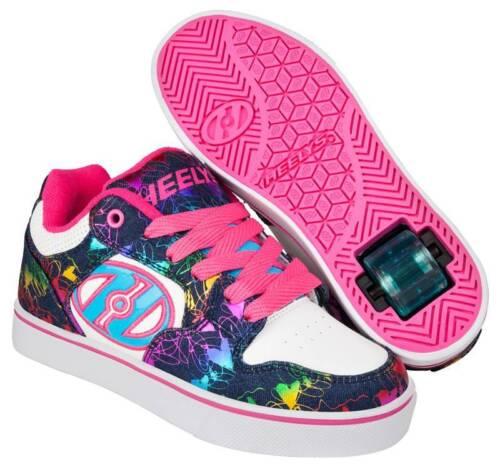 Heelys Motion Plus Schuhe weiß-blau-bunt NEU 98729