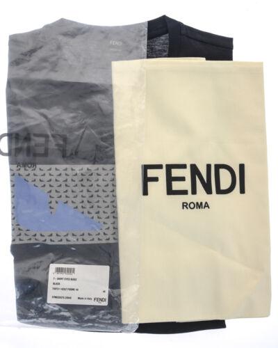 Uomo Shirt Bugs Occhi Italy Nero Felpa Fendi Made In T Faf511a2uz F0gme qS81awn