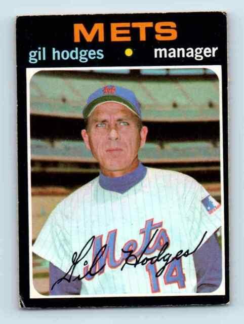 1971 Topps Gil Hodges . #183