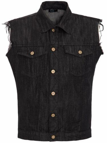King Kerosin Jeans Gilet Trouble Maker Rockabilly used con rückenprint 5030