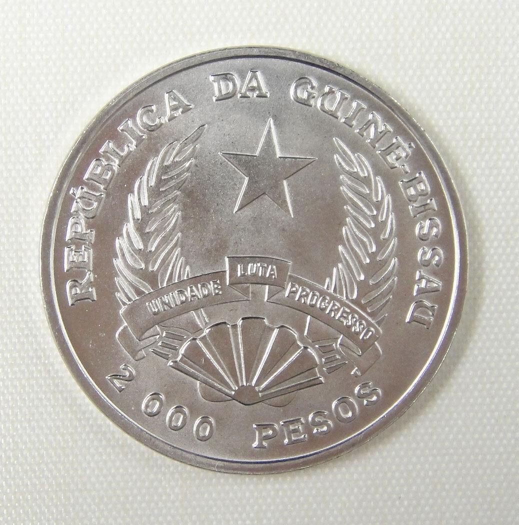 FAO 50th Anniversary UNC URUGUAY 1995 SILVER COIN 100 Pesos 1995