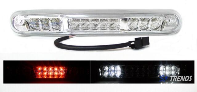 2007 - 12 Chevy Silverado GMC Sierra LED Third 3rd Brake Light Tail Lamp Chrome
