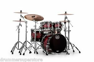Mapex-Saturn-IV-MH-4-Piece-Rock-Shell-Pack-Merlot-Burst-SNM529XCCL