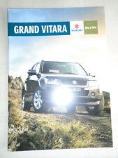 Suzuki Grand Vitara brochure Sep 2008 New Zealand market