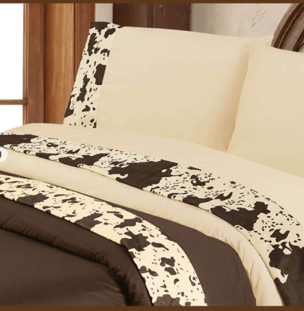 Cowgirl Kim Cowhide Sheets Chocolate