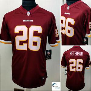 NIKE-NFL-Youth-Washington-Redskins-039-Peterson-26-039-Jersey-Size-10-12yrs-Medium