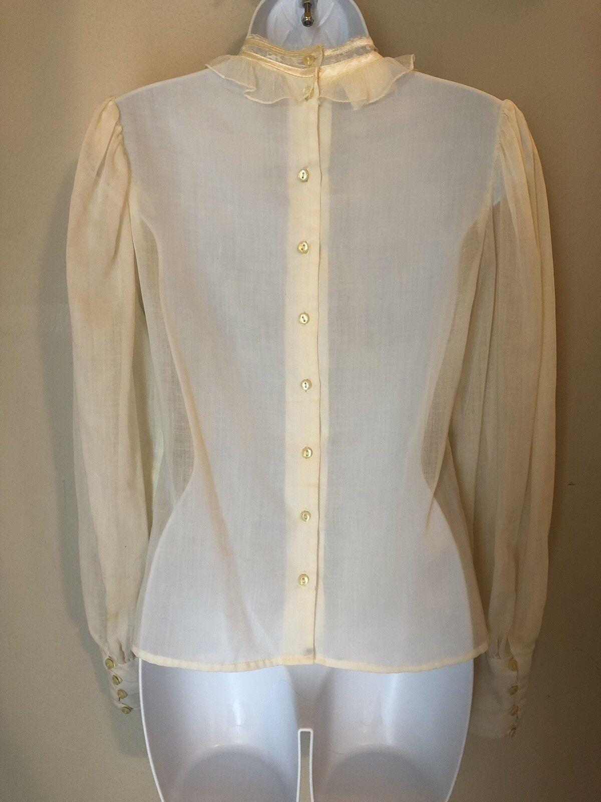 jessicas gunnies vintage blouse - image 4