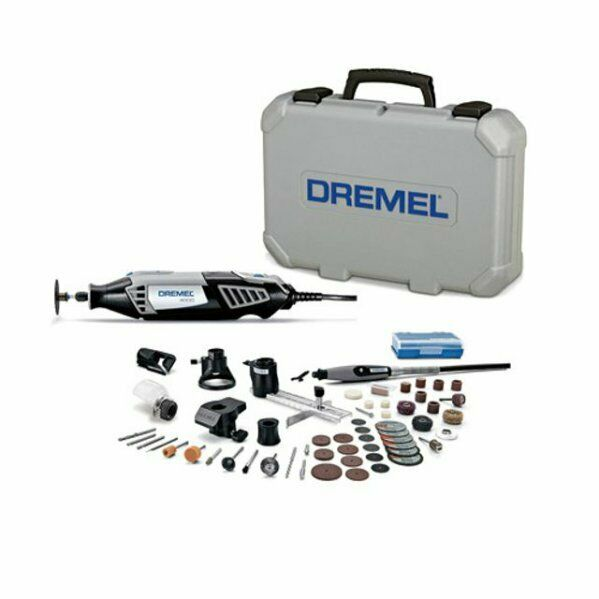220V Dremel 4000-6-50 Electric Rotary Tool Kit Set Cutting Sanding Carving