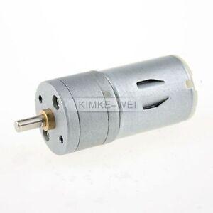 Modellbau-Getriebemotor-12V-1200-U-min-Gleichstrommotor