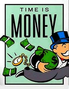 Essay on time is money