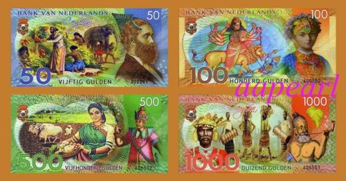 Set Sri Lanka Banknotes paper money brand new Collections Uncirculated 4pcs