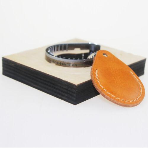 Lederbearbeitung Vorlage DIY Leder SchlüsselKappe Bezug Prägeschablone Schnitzen