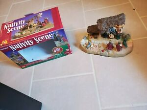 Christmas Nativity Scene Story of Jesus Birth Epiphany SOLD AS A DISPLAY PARTS