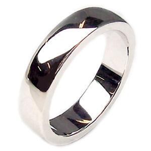 f04cbd750884 Anillos Bandas de boda novia para boda de oro blanco 18 kt. pareja 2 ...