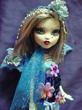 paris ooak monster high doll handmade custom doll repaint vampire