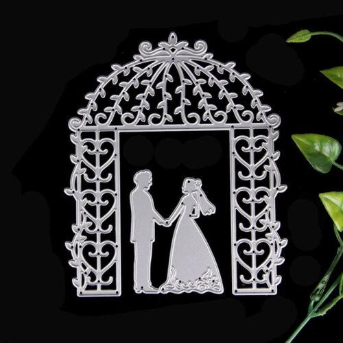 Bride Groom Wedding Die Cutting Dies Stencils DIY Scrapbooking Card Paper Craft