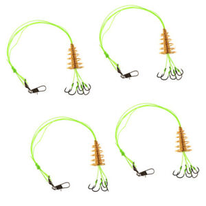 4x-Carp-Fishing-Hooks-High-Carbon-Steel-Explosion-Hook-Tackle-Bait-Trap