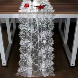 300cm-White-Lace-Table-Runner-Floral-Table-Cloth-Boho-Wedding-Favor-Home-Textile