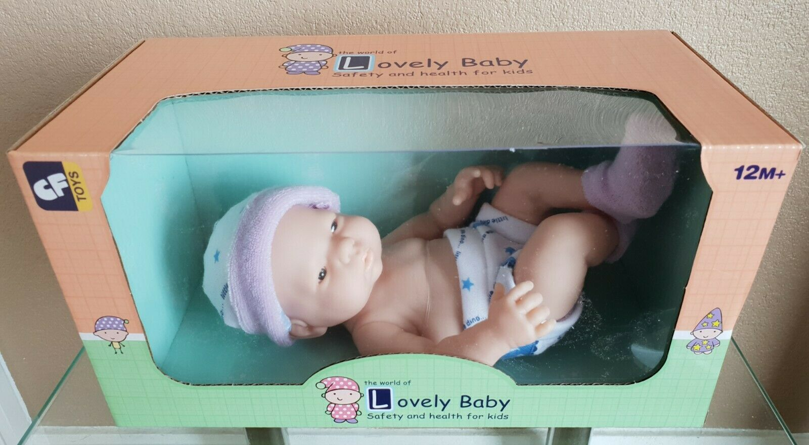25cm Lovely Lifelike Soft Silicone Reborn Baby Doll with Clothes BNIB