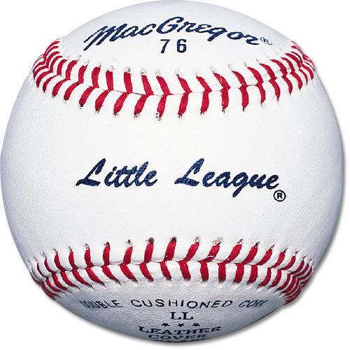 MacGregor® #76C Little League® Baseballs C Grade Leather Cover 12 pack