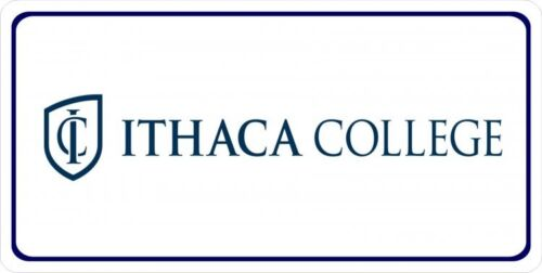 Ithaca College Photo License Plate