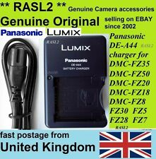 Original Panasonic LUMIX charger DE-A44 DMC- FZ8 FZ18 FZ28 FZ30 FZ35 FZ38 FZ50