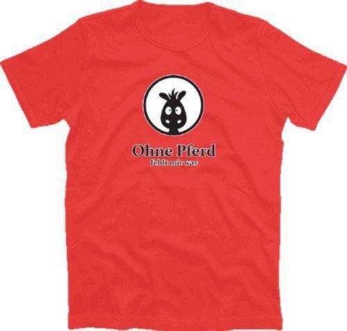 OHNE PFERD FEHLT MIR WAS Kinder T-Shirt 104-164