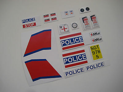 Action Man B2G1F Race Car Stickers