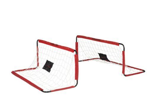 Dunlop Transportables Fussballtor Aufbau Netz flexibel Outdoor 150 x 60 x 60 cm