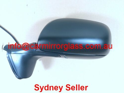NEW DOOR MIRROR FOR TOYOTA COROLLA ZRE152 HATCH 2007-2009 LEFT WITHOUT BLINKER