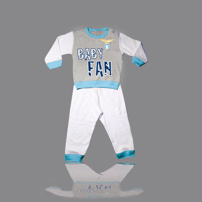 FW14 Lazio Rom Größe 18-24 Monaten Schlafanzug jammies Neugeborenen BABY