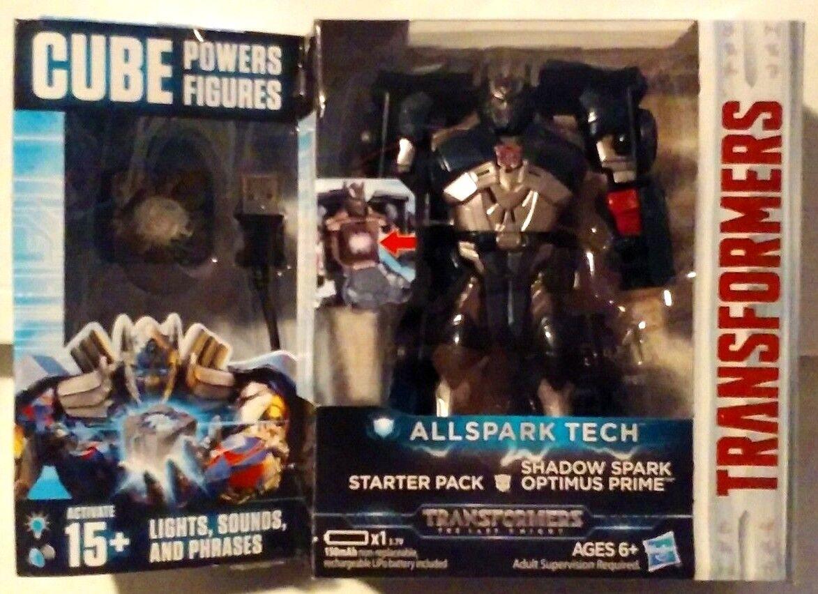 Transformers tutti SPARK Tech Starter Pack Ombra SPARK OPTIMUS PRIME