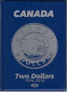 1937-1983 #5 UNI-SAFE CANADIAN  50  CENTS  FOLDER  ALBUM  BLUE