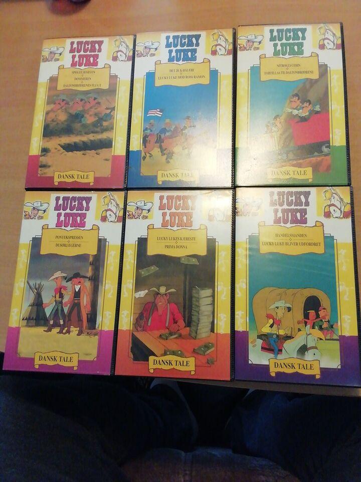 Tegnefilm, Lucky Luke Serie