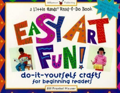 A little hands read and do book easy art fun do it yourself do it yourself crafts for solutioingenieria Choice Image