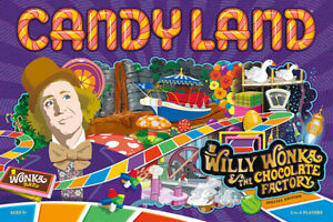 CANDY-LAND-Willy-Wonka-amp-The-Chocolate-Factory-New-2018