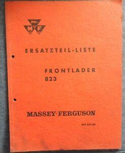 Massey Ferguson MF 260 Microfich Ersatzteilliste 1983