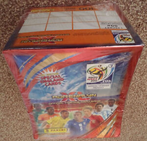 Panini World Cup 2010 Adrenalyn XL 100 pack box
