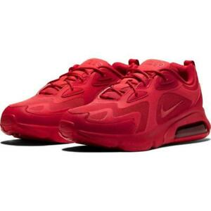 Details about Nike Air Max 200 Men's Athletic Shoes New Red/Red CU4878 600