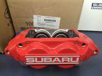Genuine Subaru Wrx Red Subaru 4 Piston Brake Caliper Rh Passenger Right