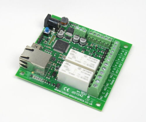dScript1242-2 x 16A Ethernet Relais