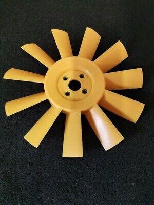 Classic Mini NEW Yellow Plastic 11 blade plastic fan  Austin Morris Cooper
