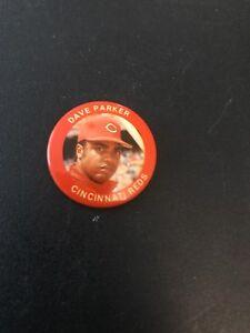 VINTAGE-1984-FUN-FOODS-Dave-Parker-Cincinnati-Reds-PIN-BUTTON-80